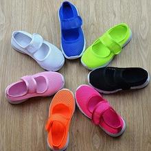 Конфеты Цвет Летом Воздухопроницаемой Сеткой Детей Shoes Одиночные Чистая Ткань Детская Спортивная Shoes Случайные Мальчики Shoes Девушки Кроссовки(China (Mainland))