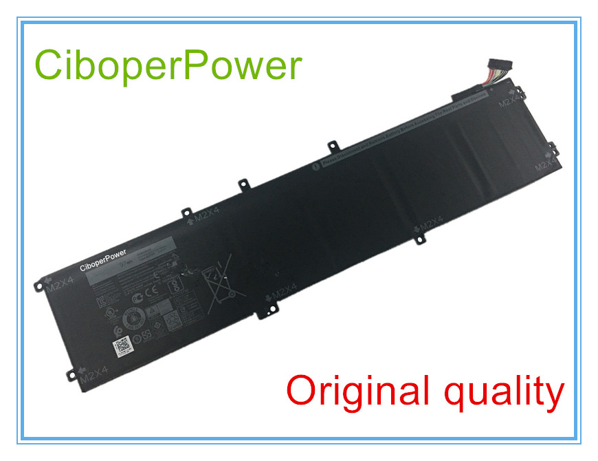 Original 11.1V 97WH Laptop Battery For 5510 XPS 15 9550 9560 6GTPY 5XJ28 image