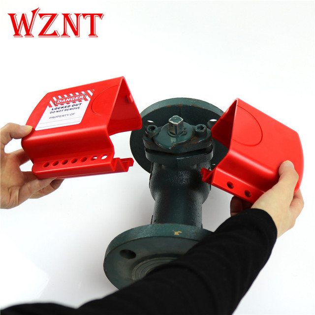 NT-F09 Adjustable Flanged Ball Valves Cover Lockout safety ball VALVE LOCK suitable for DN8-DN125 Flanged Ball Valves