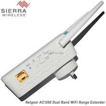 NETGEAR 11AC 1200 Mbps Dual Band Gigabit 802.11ac (300 Mbps + 900 Mbps) Wi-Fi Range Extender with External Antennas