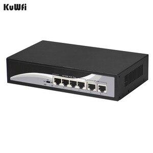 Image 5 - Switch di rete Ethernet a 4 porte a 2 porte con 4 porte POE e 2 Uplink Ethernet IEEE 802.3af supporto MDI/MDIX estendere 250 metri