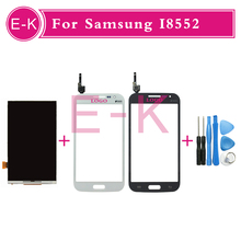 New high quality LCD Display+Touch Digitizer Screen replacement +Free Tools For Samsung i8552 Free Shipping