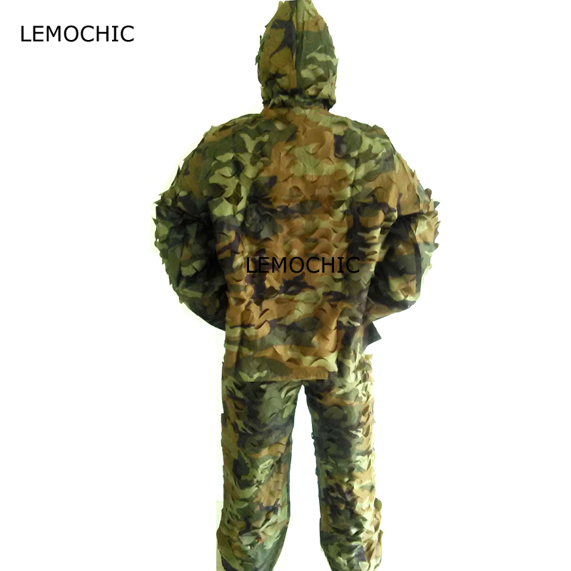 LEMOCHIC airsoft hunting sniper wader multicam military equipment tactical desert tropic woodland camouflage ghillie suit