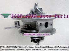 Free Ship Turbo CHRA Cartridge Core BV39 54399880027 54399700027 27 Fo Renault Kangoo Scenic Modus 2003- K9K-THP K9KTHP 1.5L DCI