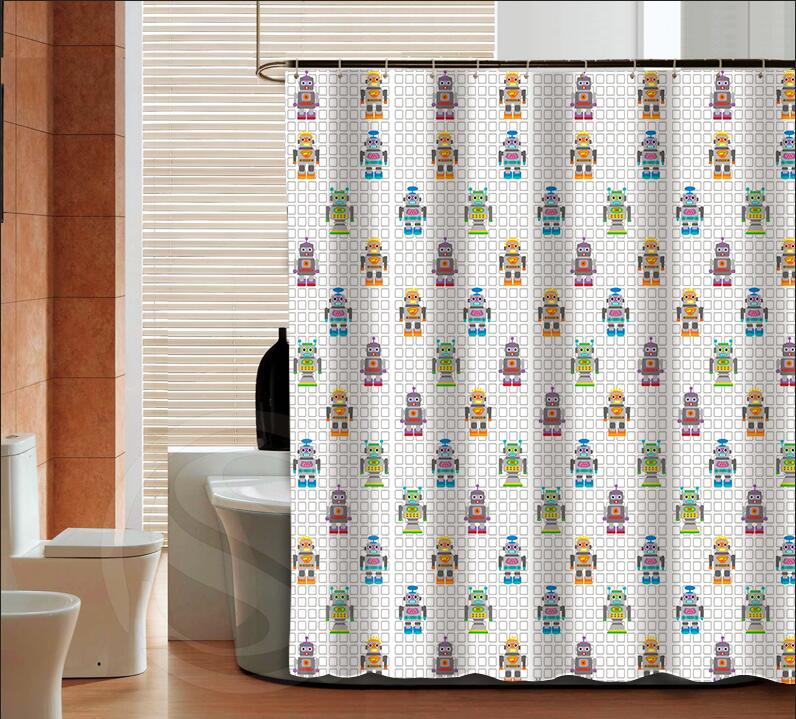 fashion plaid pattern high quality custom shower curtain bathroom decor various sizes free shipping more size