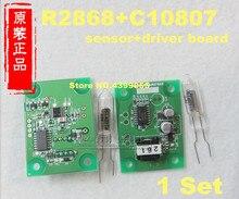 1 Set  R2868 + C10807  Flame detection module sensor 100% original new