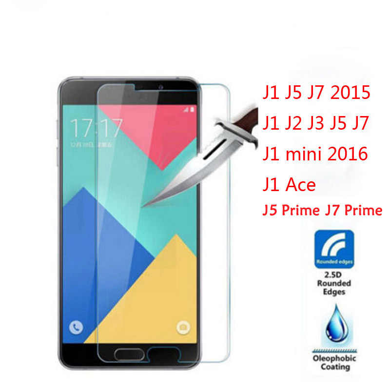 EKDME Premium Tempered  For Samsung Galaxy J1 J5 J7 J2 J3 J1 Ace J1 mini 2016 Grand Prime Screen Protector Glass Front Film