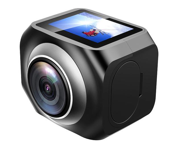 Lançado novo 360 Resolução Da Câmera de Vídeo 4 K Creat seu 3D vídeo e imagens nunca foi tão Simples de 360 Ação esporte câmera