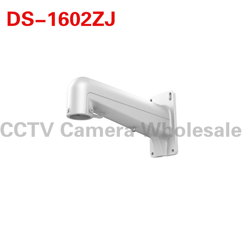 DS-1602ZJ wall mount bracket for HIK PTZ camera ds 1602zj box corner ptz camera bracket corner mount bracket with junction box