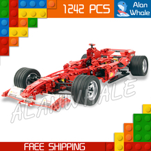 1242 unids 3335 F1 Racer 1:8 Modelo de Bloques de Construcción Técnica minicar diecast coches automóvil Niños Juguetes Compatibles con Lego