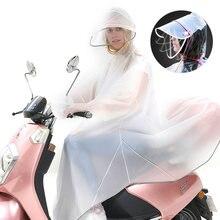 Chubasquero reflectante para hombre y mujer, guantes impermeables con borde reflectante, capa eléctrica para montar en bicicleta, abrigo de lluvia con capucha