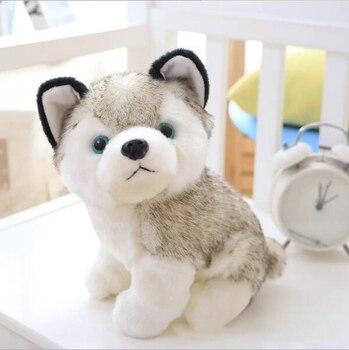 Kuscheltiere Cozfay Free Shipping Dropshipping 20cm Lovely Plush Dog Siberian Husky Soft Stuffed Animal Puppy Toy Dolls Home Decor Birthday