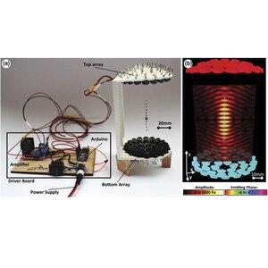 Image 1 - Elecrow Ultrasonic Levitation Acoustique อิเล็กทรอนิกส์ DIY ชุด Levitator ง่ายและราคาไม่แพง TinyLev แบบพกพาอะคูสติกรถแทรกเตอร์