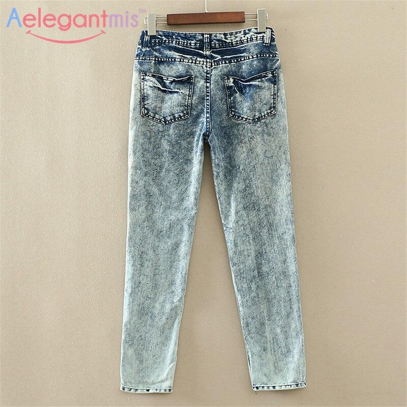 Женские джинсовые штаны и Шорты Aelegantmis