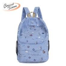 2019 Fashion Backpack Women School Bags For Teenagers Female Nylon Travel Girls Preppy Mochilas