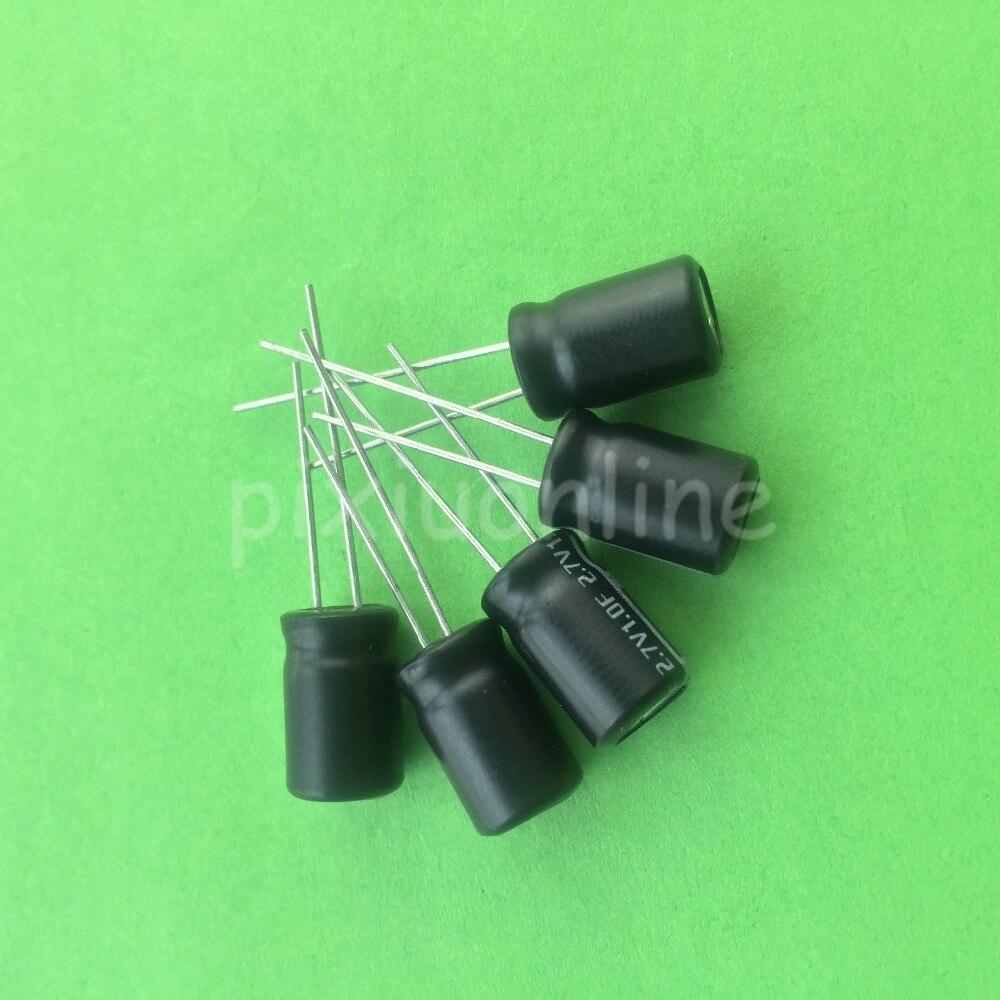 5pcs J469Y 2.7V 1F Super Capacitor High Capacity Power Density Double Layer Capacitor DIY Circuit Parts