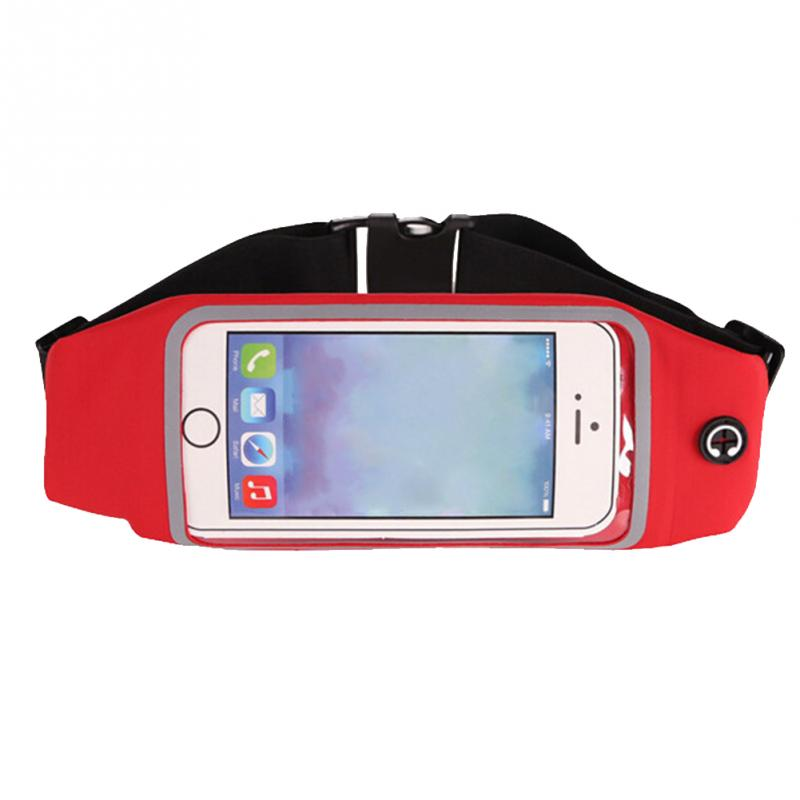 Waist Bag Touching Waterproof Belt Pouch Mobile Phone Holder For Smartphones Morning  Exercise Accessory #20