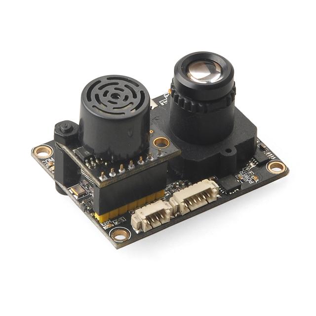 F18515/7 V1.3.1 PX4FLOW Optical Sensor De Flujo Inteligente Cámara con Módulo Ultrasónico Sonar para el Control de Vuelo PX4 PIX MB1043 sistema