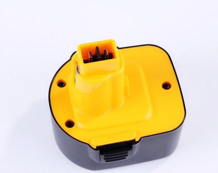 12V 4500mAh Ni-CD Battery Replacement for Dewalt DC9071 DE9037 DE9071 DW9072 DE9075 DE9501