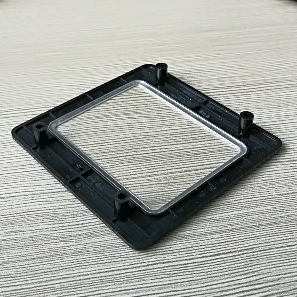 GM72-P Black Plastic Protection Panel Enclosure Shell Fixed Front Panel