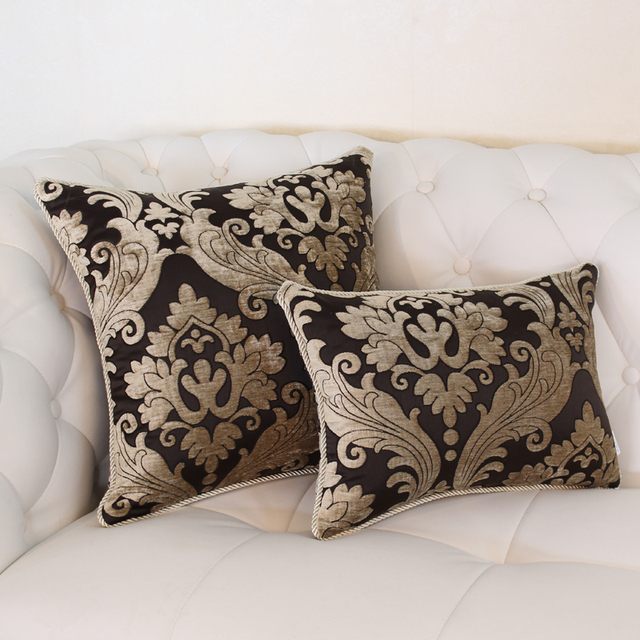 Discount Throw Pillow Covers Cheap Euro Luxury Chair Cushion Mat Covers  Modern Style Elegant Sofa Covers