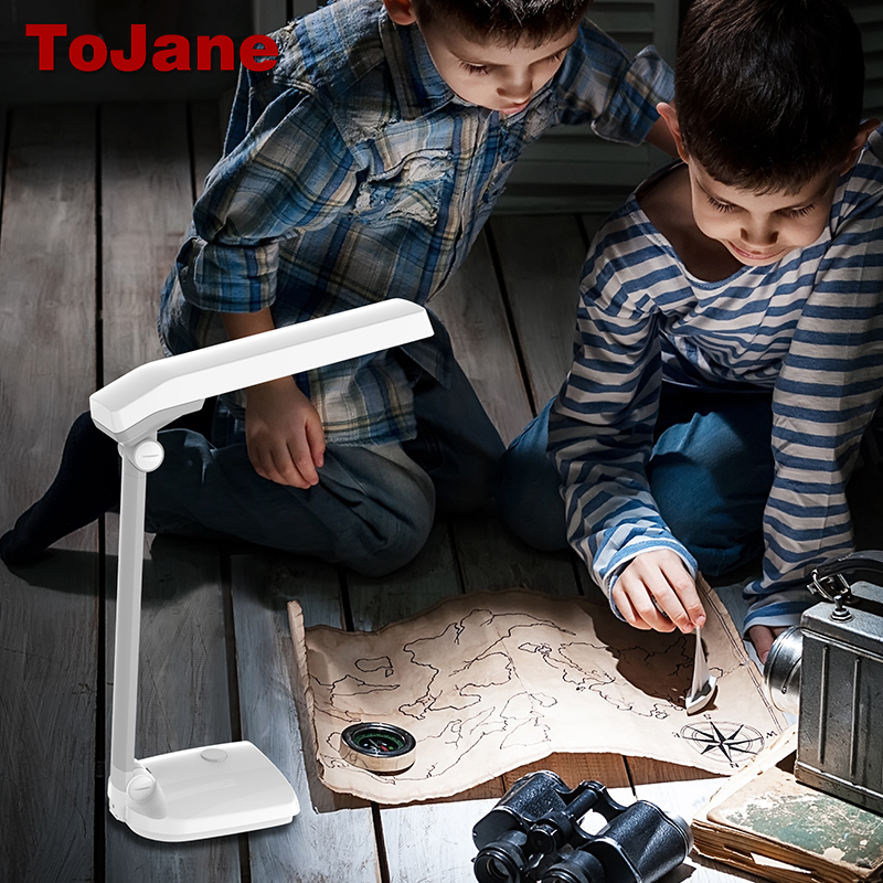 ToJane TG906 LED Reading Lamp 3 Color Modes&3 Brightness Desk Lamp 8W Eye Care Led Desk Lamp Touch Control Led Table Desk Light