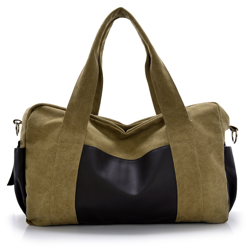 Fashional Canvas Shoulder Bag Simple Handbag Bag Multipurpose Computer Bag Practical Classic Canvas Light Tote Bag