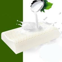 PurenLatex 60×40 Таиланд чистый подушечка из натурального латекса корректирующих защитой шеи позвонков здравоохранения Ортопедическая подушка с медленным восстановлением формы