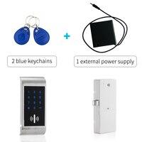 Zink-legierung Touch Tastatur Passwort RFID Karte Schlüssel Digitale elektronische schrank lock