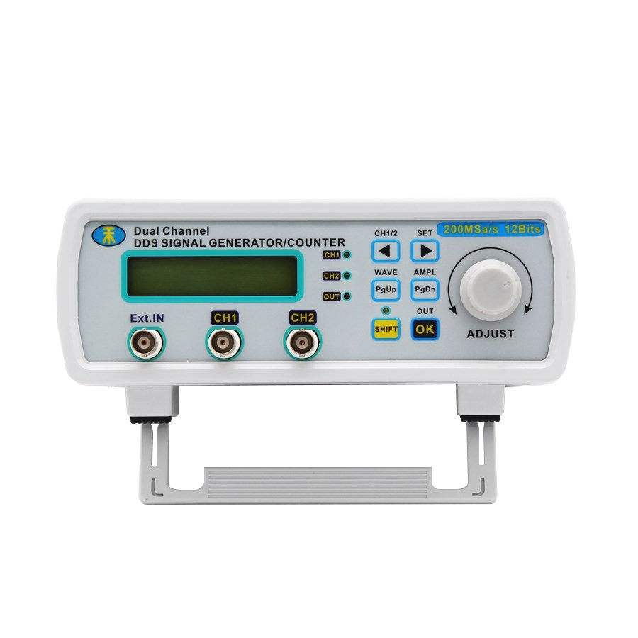 JUNTEK MHS5200A 25 mhz デュアルチャンネルデジタル信号発生器 DDS ファンクションジェネレータ周波数発生器任意波形/パルス  グループ上の ツール からの 信号発生器 の中 3