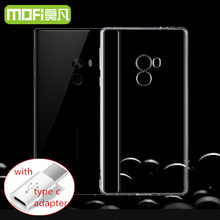 xiaomi mi mix case mimix silicon cover xaomi mix 6.4″ fundas 256gb xiomi xioami mix mi back soft tpu coque slim + type c adapter