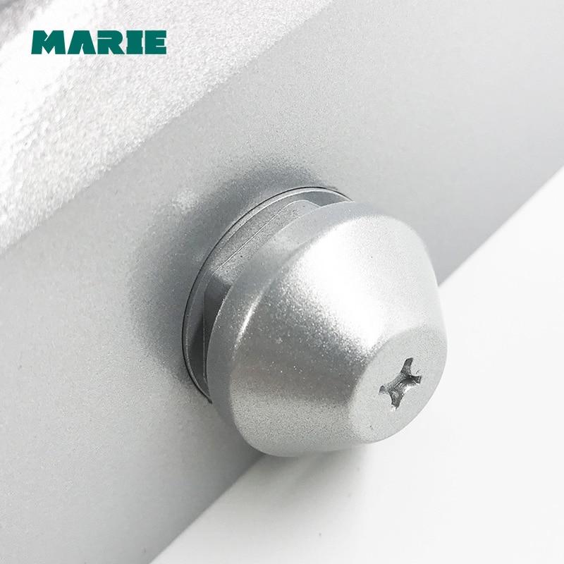 Silver Color 1303D Aluminum Alloy Door Closer 40kg 65kg Automatic Hydraulic Door Closer in Door Closers from Home Improvement
