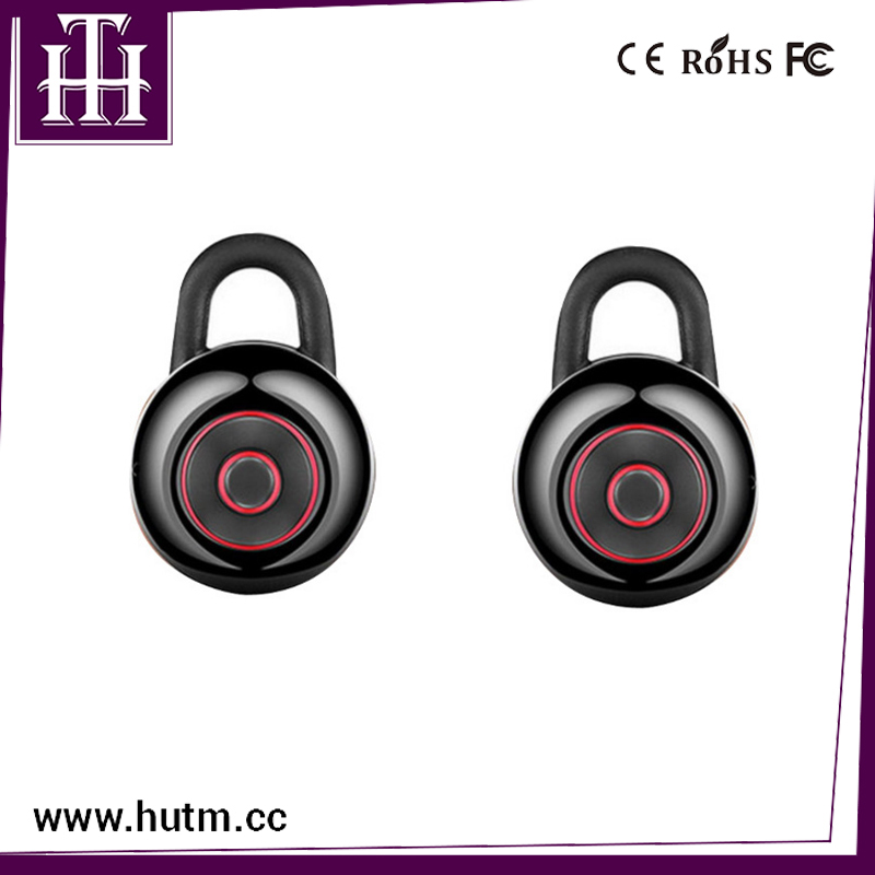 Hutmtech C18 Custom CSR MINI TWS True Wireless Earphone Stereo In Ear Black White Red Silver Earphone For Phone corporate social responsibility csr in ethiopian floriculture industry