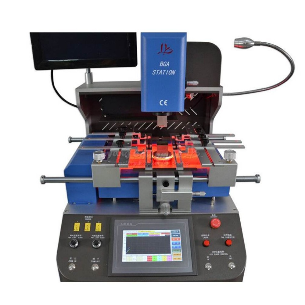 SMD BGA Rework Station LY G750 Automatic Align System  HR IR Heating Soldering Machine