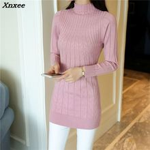 Xnxee make new womens clothing han edition half a turtle neck twist top 9 ranked