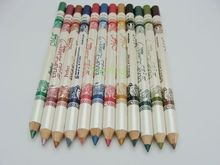 12pcs set 12 Color Cosmetics Makeup Pen Waterproof Eyebrow Eye Liner Lip Eyeliner Pencil