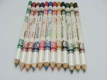 12 pçs/set 12 Cor Cosméticos Maquiagem Pen Waterproof Sobrancelha Eye Liner Lip Pencil Eyeliner