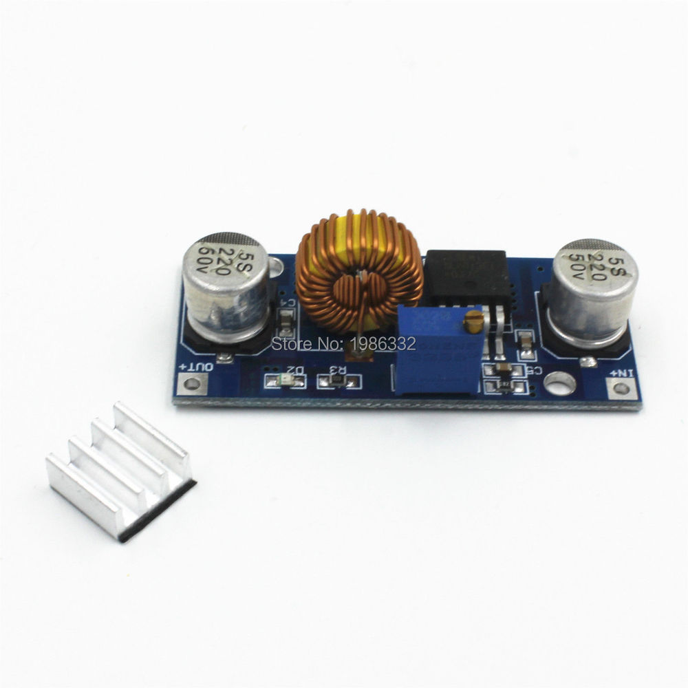 Ws16 5a 75w Xl4015 Dc Step Down Adjustable Power Supply Module Regulator Mini 9v 075a By Transistor Electronic Led Lithium Charger 4 38v To 125 36v 24v 12v 6v In Tool Parts From Tools On