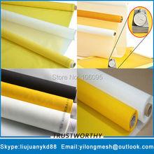 Фотография 230mesh/90T 48um Yellow 165cm 25meters Free Shipping Polyester Printing Material Silk Screen Mesh Polyester