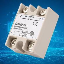Relay Module SSR-60DA Solid State Relay DC 3 - 32V Sealed 60A Solid State Relay solid state relay ssr 40va solid state relay for industrial automation process ssr 40va voltage relay