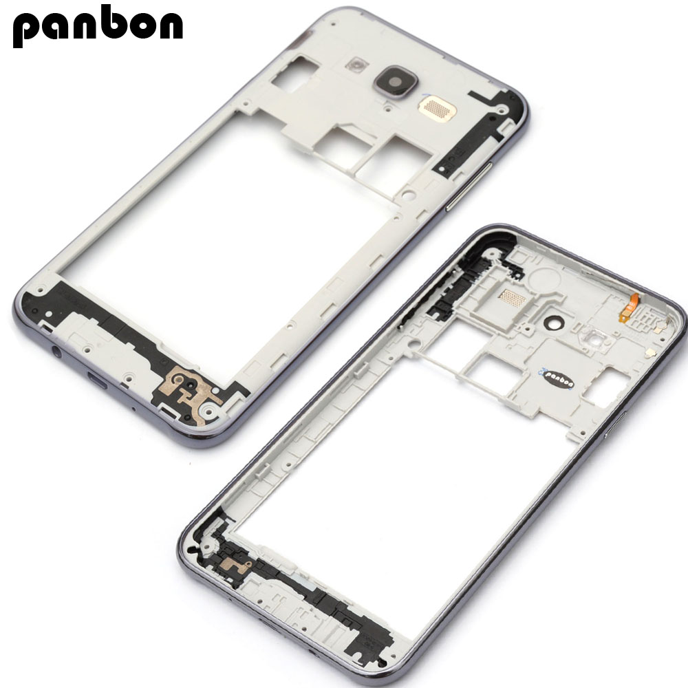 Panbon Replacement parts Middle Frame for Samsung Galaxy J7 J700F J700H Middle Housing Screen Plate Repair Part
