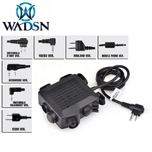 WADSN Airsoft SELEX TACMIC CT5 PTT caccia auricolare cuffie tattiche Midland KENWOOD IPSC ptt Z133 Softail accessori per cuffie