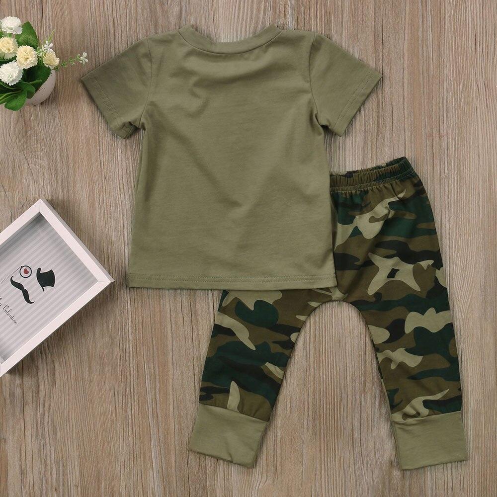 kinderen mode zomer baby jongens meisjes kleding sets boog 3 stks - Babykleding - Foto 5