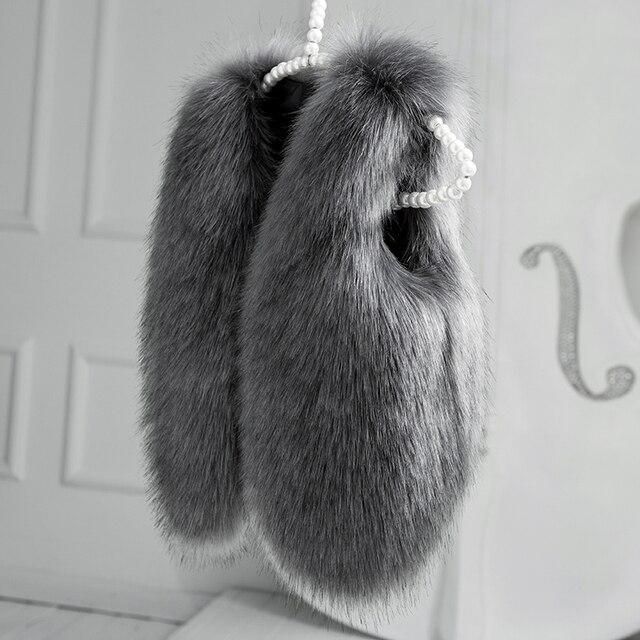 2016 Christmas Autumn Winter Faux Fur Baby Girls Vest  Fashion Children Clothing Next Kids Vest Suit 2- 8 age
