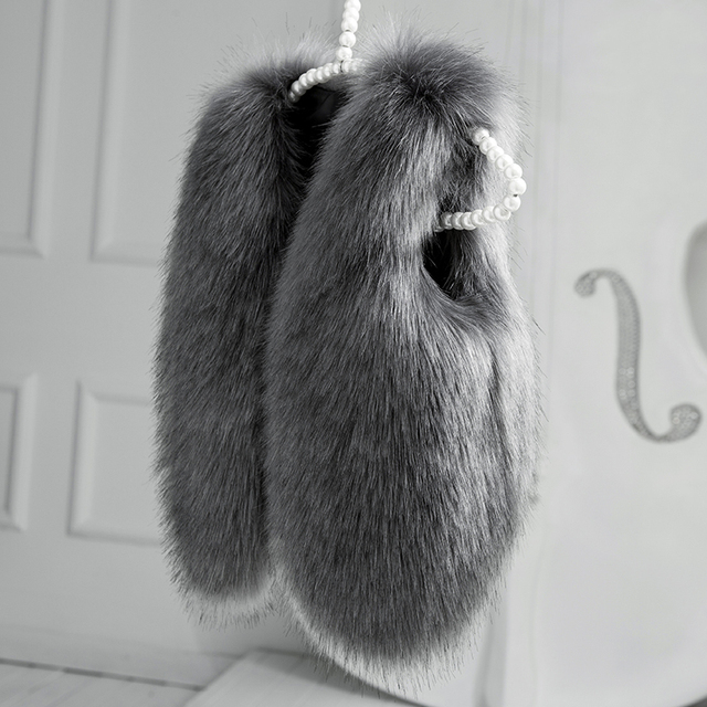 2016 Navidad Otoño Invierno Faux Fur Niñas Chaleco de Moda Ropa de Los Niños Próximos Niños Chaleco Traje 2-8 años