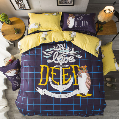 Svetanya Bohemian bedding set queen double size sheet+duvet cover+pillowcase 4pcs cotton bedlinen sets