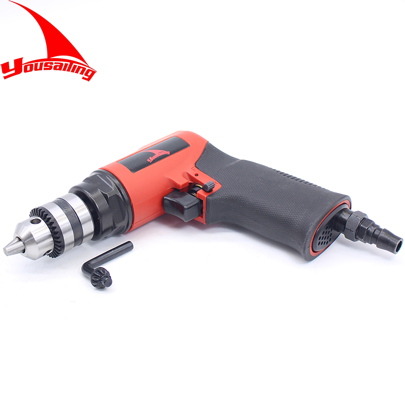 High Quality Taiwan 3/8(10mm) Reversible Pneumatic Drilling Tool / Air Drill Tool high quality 3 8 10mm reversible pneumatic drill tool air drilling tool