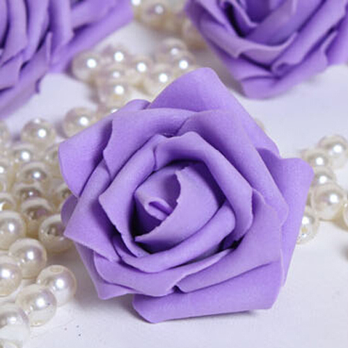 50 Mixte couleur Flatback Fleur en Tissu Couvert Bouton 12 MM ROUND CABOCHON pour bricolage