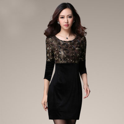 Red Holiday Dresses Women Promotion-Shop for Promotional Red ...