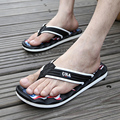 2015Summer slippers Men Casual Flat Sandals, Leisure Soft Flip Flops,EVA Massage Beach Slipper big size Size39-45 free shipping